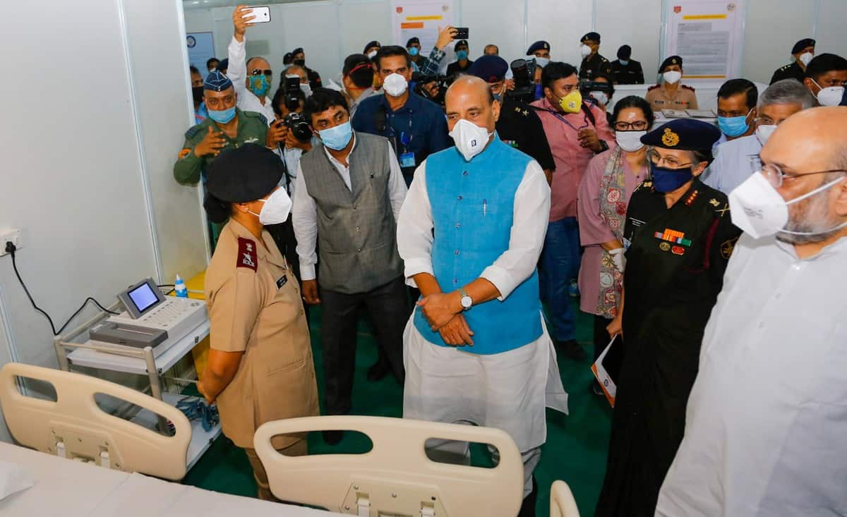Hospital with 1000 beds, 250 of for ICU, operational from today