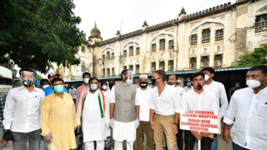 Photo of Preserve heritage building of Osmania General Hospital | Congress to KCR