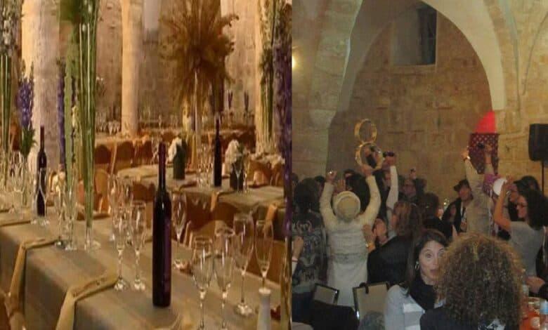 13th century Al Ahmar (Red) Mosqueconverted into a bar and a wedding hall.