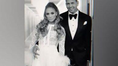 Photo of Jennifer Lopez receives adorable birthday wish from fiance Alex