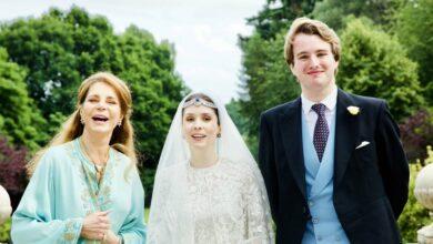 Photo of Jordan's Princess marries Roald Dahl's grandson