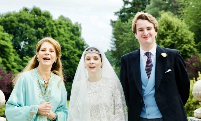Queen Noor, Princess Raiyah bint Al Hussein and Faris Ned Donovan