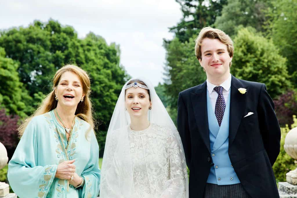 Queen Noor, Princess Raiyah bint Al Hussein and Faris Ned Donovan