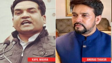 Photo of Delhi Police clean chit to Kapil Mishra, Anurag Thakur in riots