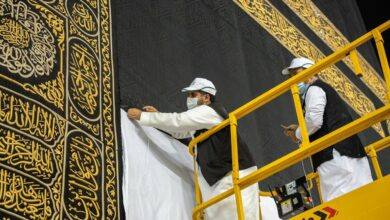 Photo of Holy Kaaba to be adorned with new 'Kiswa' next Thursday