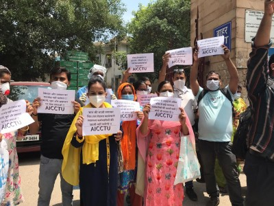 Lady Hardinge staff protest abrupt termination, allege extortion for rehiring (IANS Special)