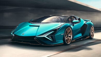 Photo of New Lamborghini Sián Roadster unveiled