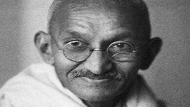 Photo of Mahatma Gandhi's gold-plated spectacles to be auctioned in the UK