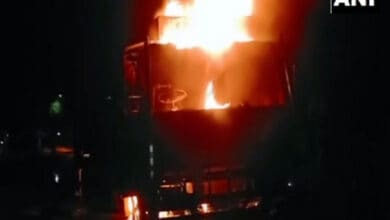 Photo of Siliguri: One killed in accident, four dumpers torched