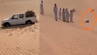 Photo of Missing Saudi man found dead in Sujood position in desert