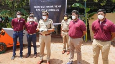 Photo of Mahesh Bhagwat launches disinfection & sanitisation drive