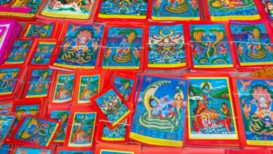 Photo of Then and Now: Murals of serpent deity in Nepal