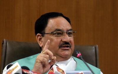 Nadda's virtual huddle with BJP CMs to counter Covid-19