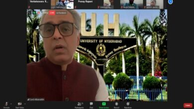 Photo of Interactive Session with Syed Akbaruddin held online by UoH