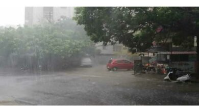 Photo of An hour's heavy rain turned Hyderabad roads into lakes