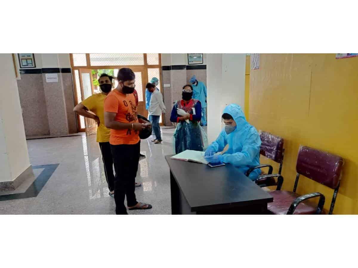 NGO sets up COVID Help Desk set up at King Koti, OGH & GGCH