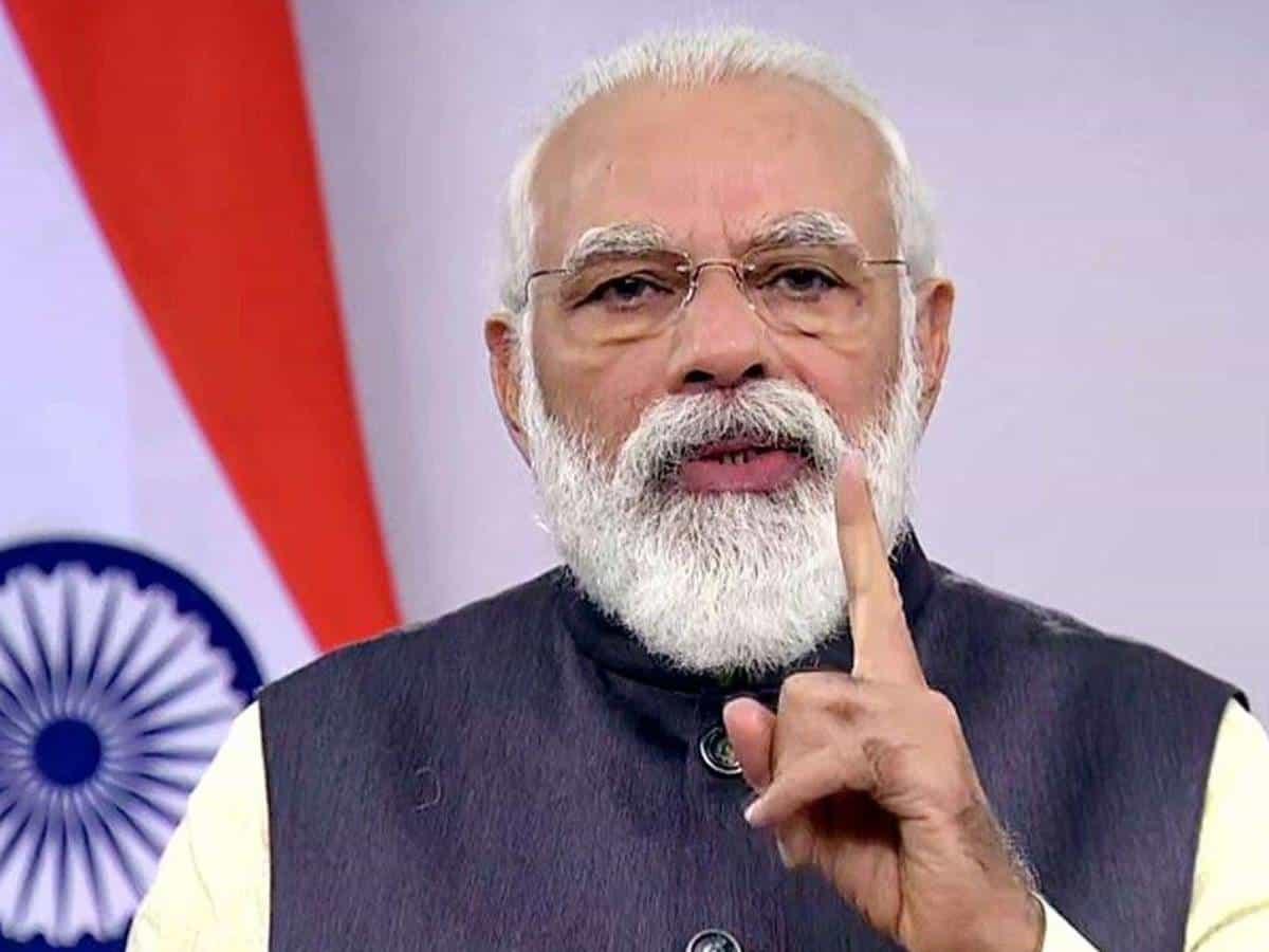 Took right decision at right time to fight Covid: Modi