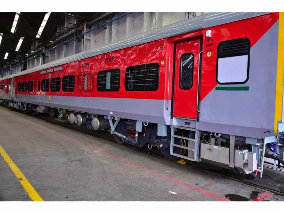 Indian Railways creates post corona coach to ensure safer trips