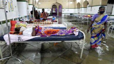 Photo of Hyderabad: Osmania General Hospital flooded after heavy rain