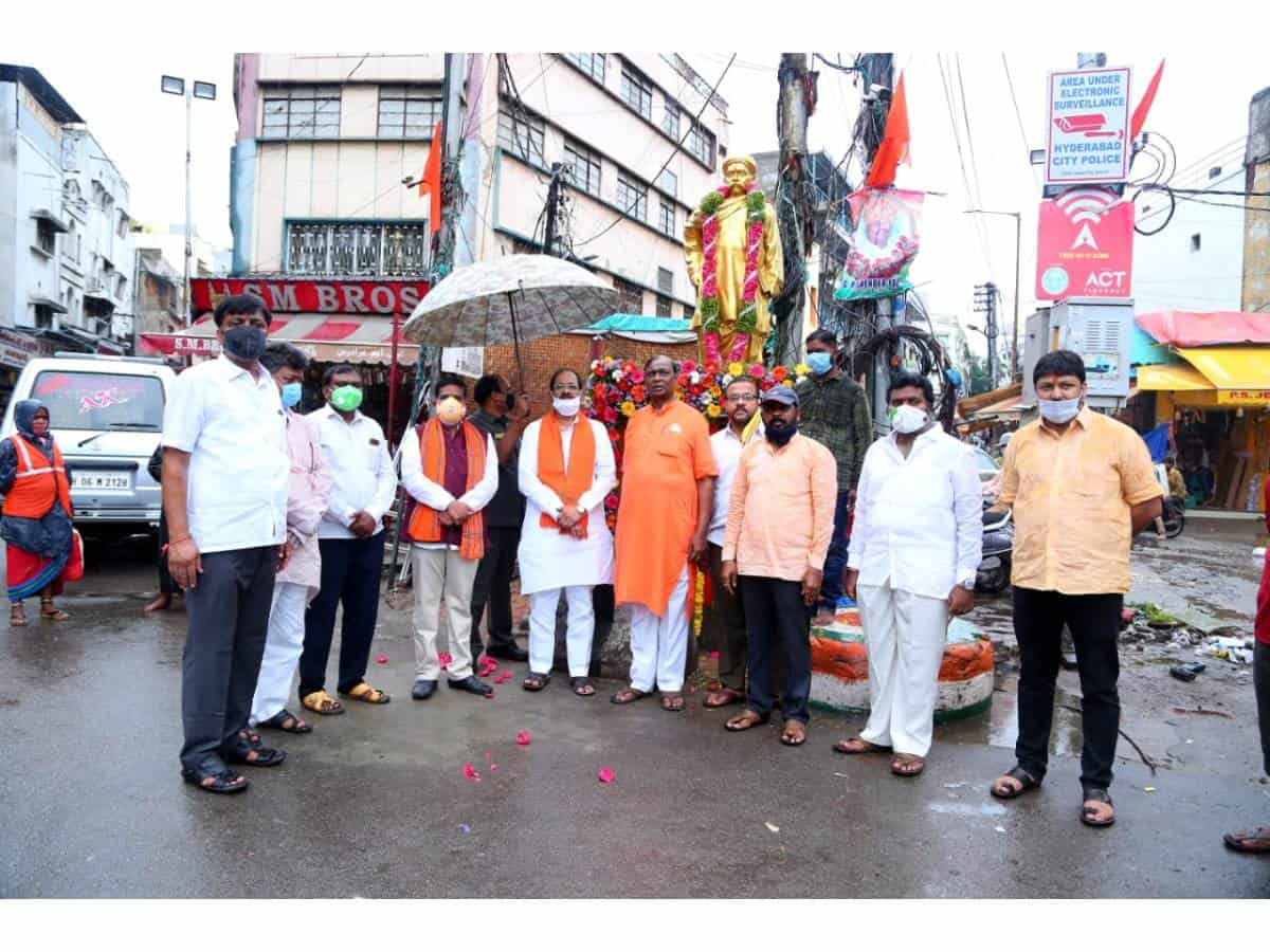 Bhagyanagar Ganesh Utsav Samithi pushes TS Govt for Ganesh festival funds