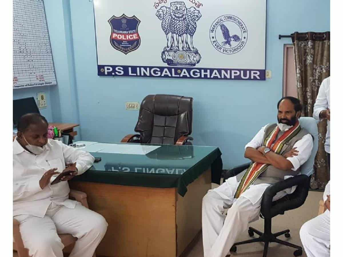 Dalits are unsafe under TRS Rule: Uttam
