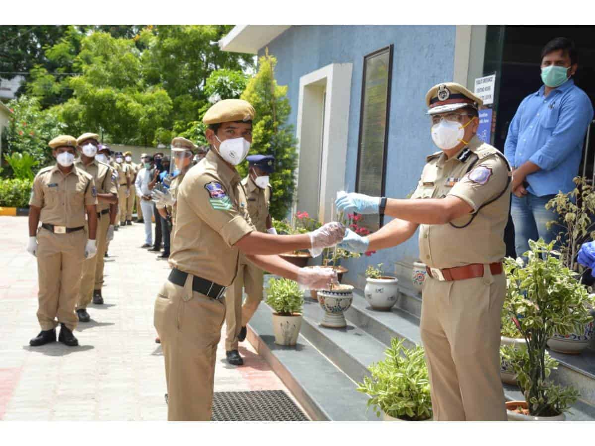 45 Rachakonda police officers recover from COVID-19