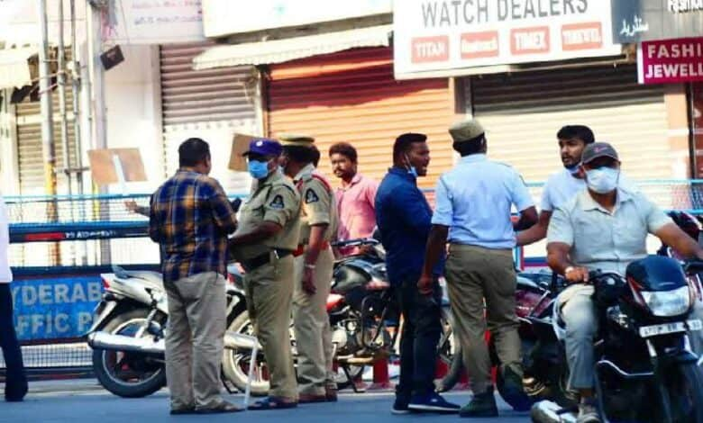 Hyderabad Police books more than 200 people in 1 day for not wearing masks