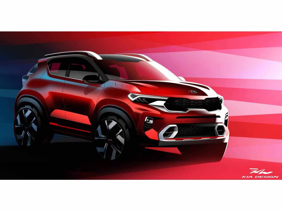 Kia Motors India releases official images of all-new Kia Sonet