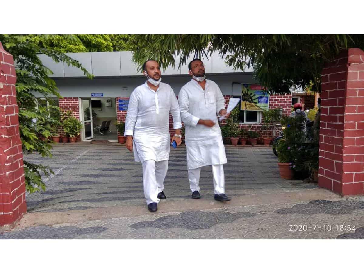 Congress demands sedition case for mosque, temple demolition