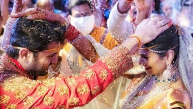 Photo of Hyderabad: Actor Nithiin, Shalini tie knot