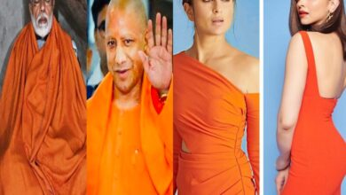 Photo of Who rocked orange dress better? Check netizens' responses