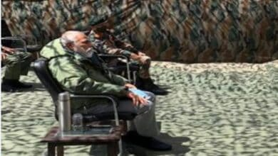 Photo of PM Narendra Modi reaches Ladakh, to review ground security