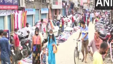 Photo of Eid ul-Adha: Crowds thinner at Guwahati markets