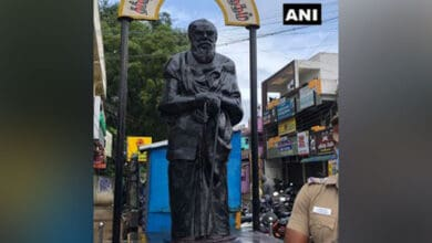 Photo of TN: Periyar statue desecrated in Coimbatore, complaint filed