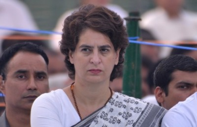 Priyanka Gandhi temporarily shifts to Gurugram