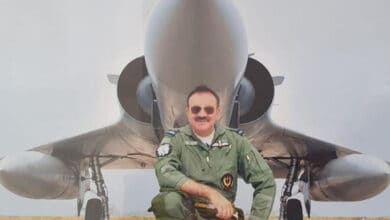 Photo of Kashmir's Hilal Ahmad Rather, first pilot to fly Rafale