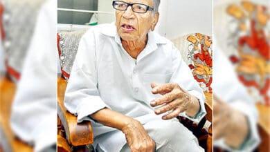 Photo of Raghupati Reddy, last of  two surviving heroes of 'Telangana Twelve' passes away