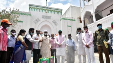 Photo of Prominent TRS officeholders celebrate KTR's birthday
