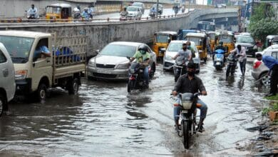 Photo of Rains hammer Toli Chowki, flood its streets