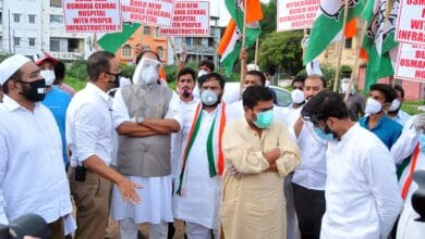 Photo of TPCC Chief and other Congress members demand OGH be renovated, not restored