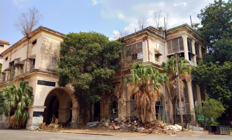 Historic Saifabad Palace to be razed to rubbles