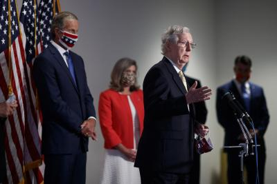 Senate Republicans unveil $1tn COVID-19 relief proposal