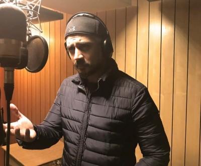 Shiv Panditt dubs for 'Khuda Haafiz' in Delhi
