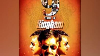 Photo of Ajay Devgn gets nostalgic as 'Singham' clocks 9 years
