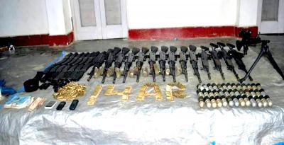 Sniper rifle, ammunition seized by Army in Kashmir