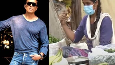 Photo of Sonu Sood offers job to a techie turned vegetable vendor