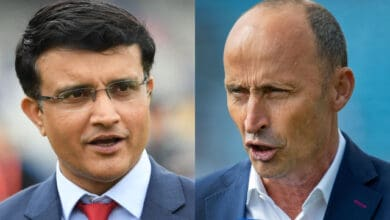Photo of Nasser Hussain: Ganguly always made me wait for toss; I hated it
