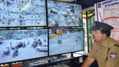 Photo of Hyderabad most surveilled city in India
