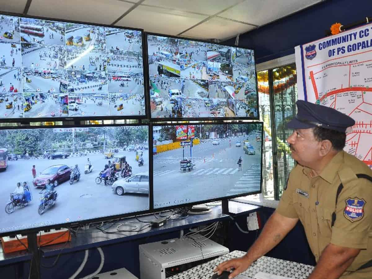 Hyderabad most surveilled city in India