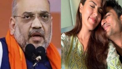 Photo of Rhea requests Amit Shah for CBI probe into Sushant Singh's death